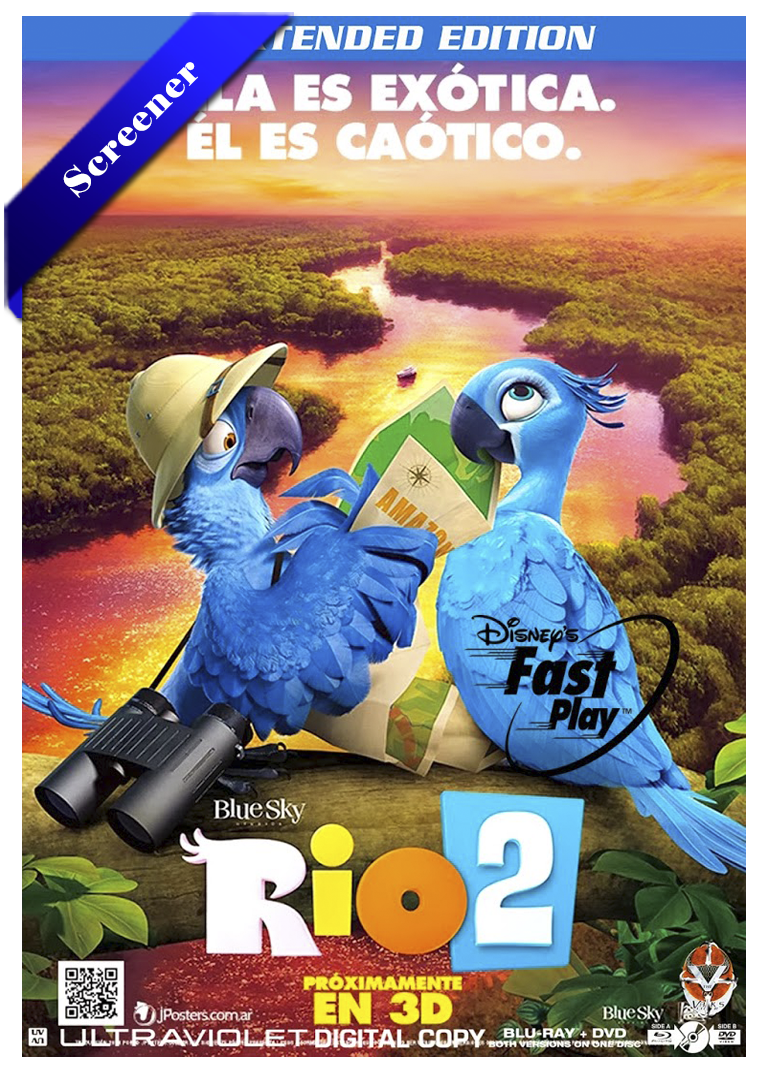 Rio 2 HDTV Screener Castellano 2014