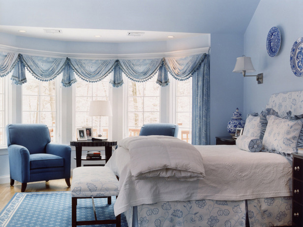 Master Bedroom Blue Color