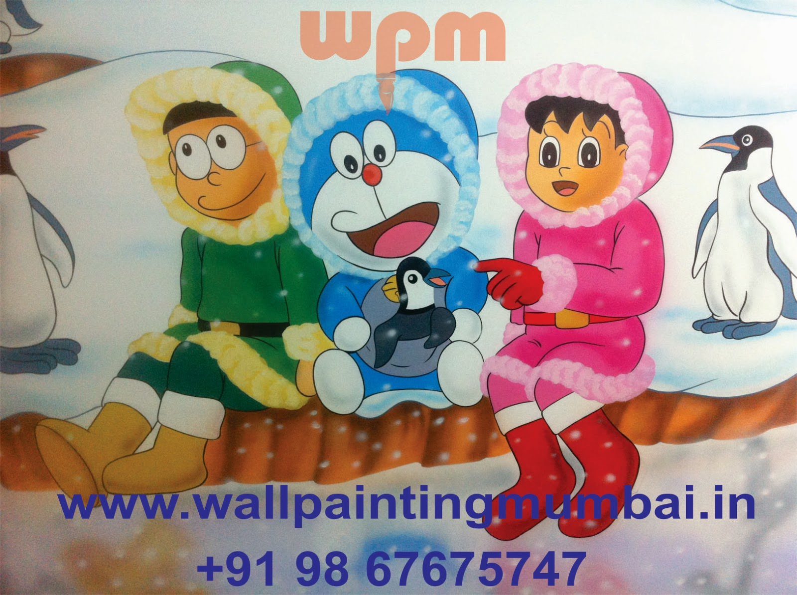 play school wall painting specialized cartoon painting for kids school classroom in all over india - Cartoon Painting For Kids