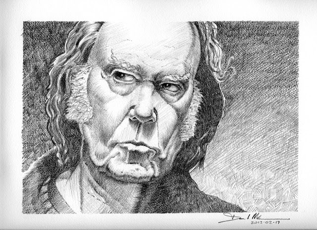 Neil Young by David Meldrum