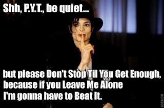 Michael Jackson PYT Meme