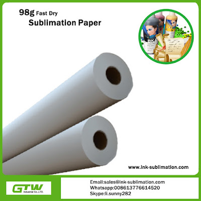 98gsm sublimation transfer paper