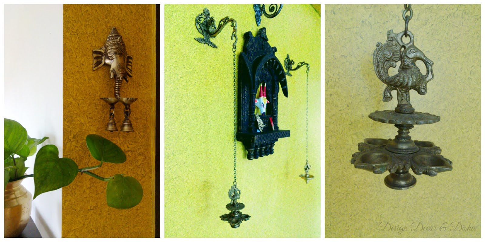 Simple Ethnic Indian Wall Decor