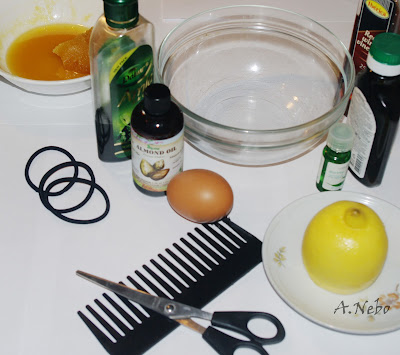 Ingredients for hair mask