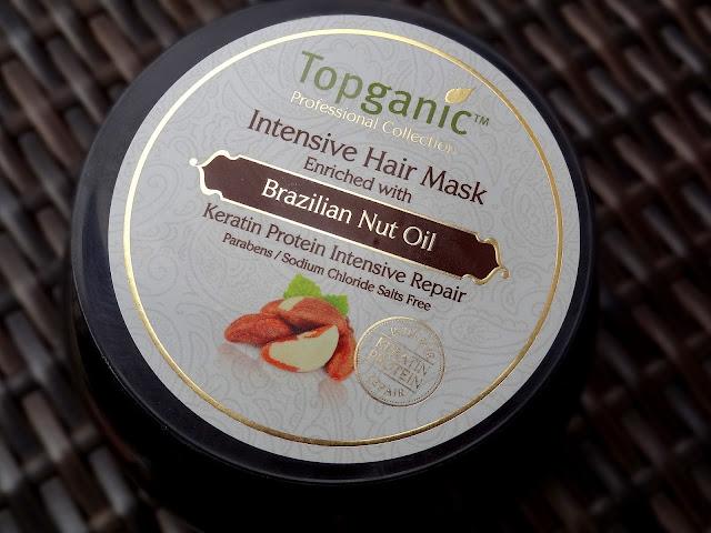 Topganic Brazilian Nut Oil Shampoo & Intensive Hair Mask