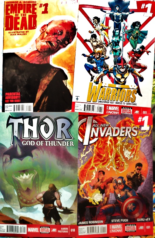 February Comic Books / Cómics de febrero