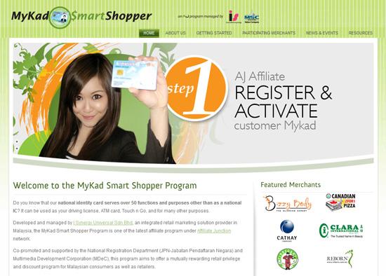 Program MyKad Smart Shopper Blogger Malaysia