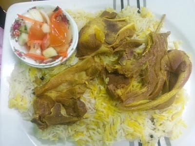 Nasi Arab Restoran Makkah/Mekah