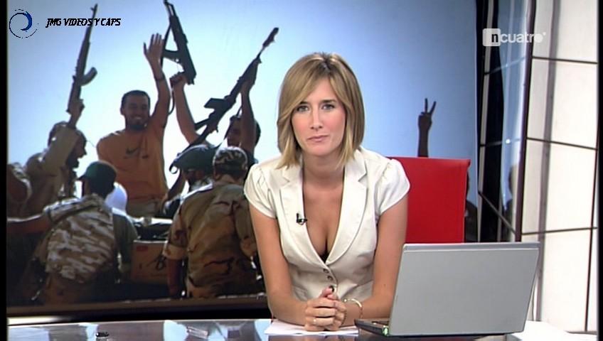 ANE IBARZABAL, Noticias Cuatro (23.08.11) (RESUBIDO)