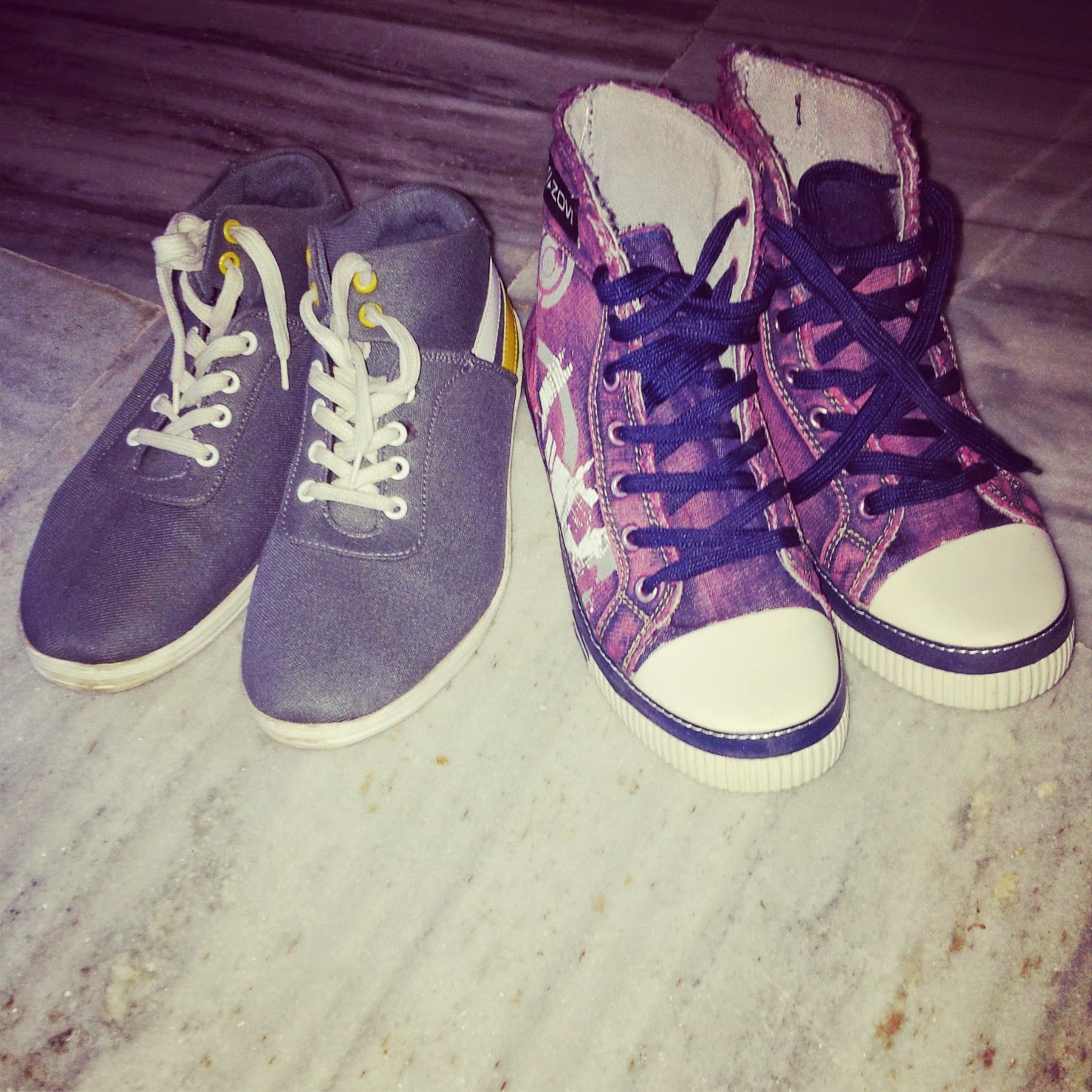 Born With Heels Loves Zovi Sneakers :)  image