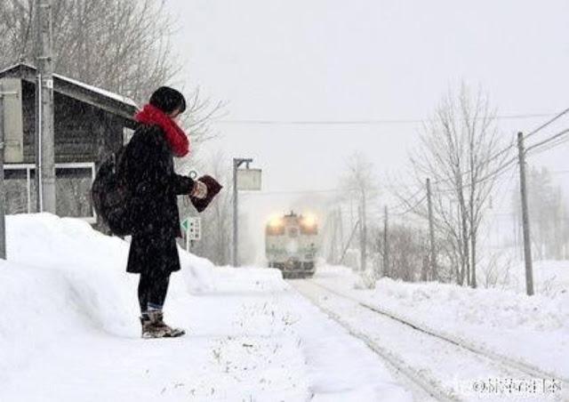 Demi Antar Jemput Seorang Siswi, Kereta Api Jepang Tunda Penutupan