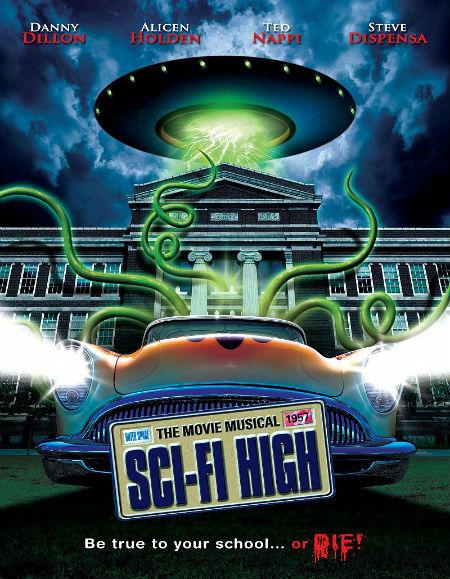 Sci-Fi High (2010) BluRay 720p BRRip Poster