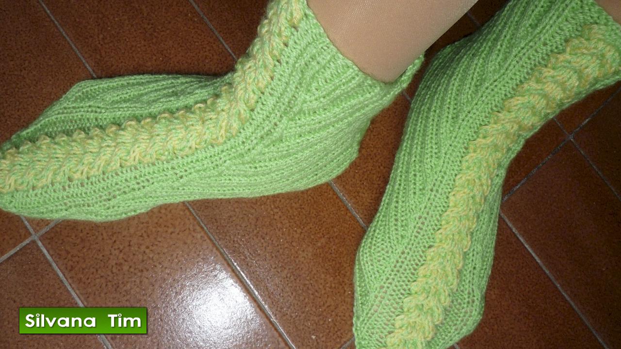 Silvana tim tejido con dos agujas puntos patrones de - Como hacer calcetines de punto ...