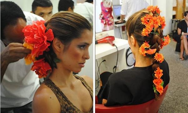 Adereço para cabelo Carnaval 2013