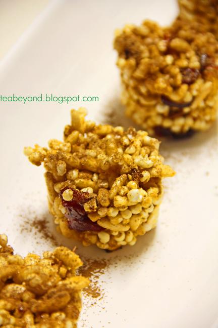 Tea Beyond: Christmas Recipes-Peanut Butter Rice Crispy Treats