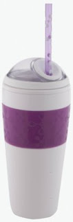 Copco 16 Ounce Cold Beverage Cup with Matching Straw