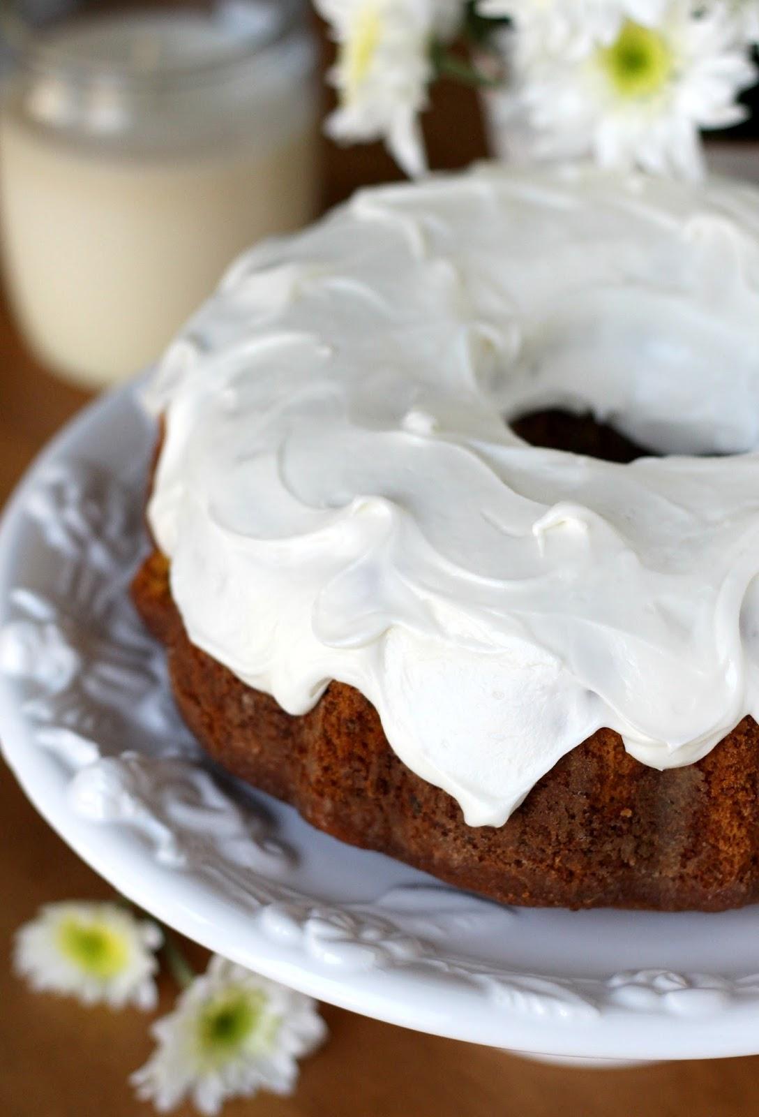 Sweet Potato Pound Cake With Cream Cheese Frosting Grateful Prayer Thankful Heart