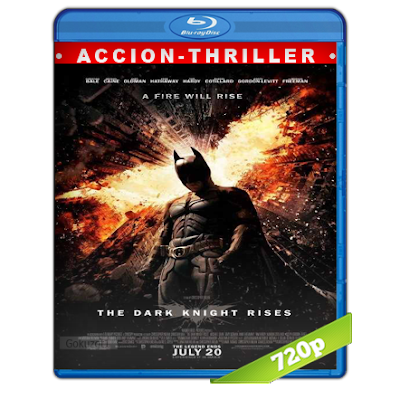Batman 7 El Caballero De La Noche Asciende (2012) BRRip 720p Audio Trial Latino-Castellano-Ingles 5.1