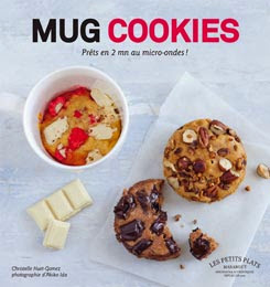 livre mug cookies marabout recettes