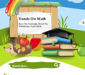 My Hands On Math Website