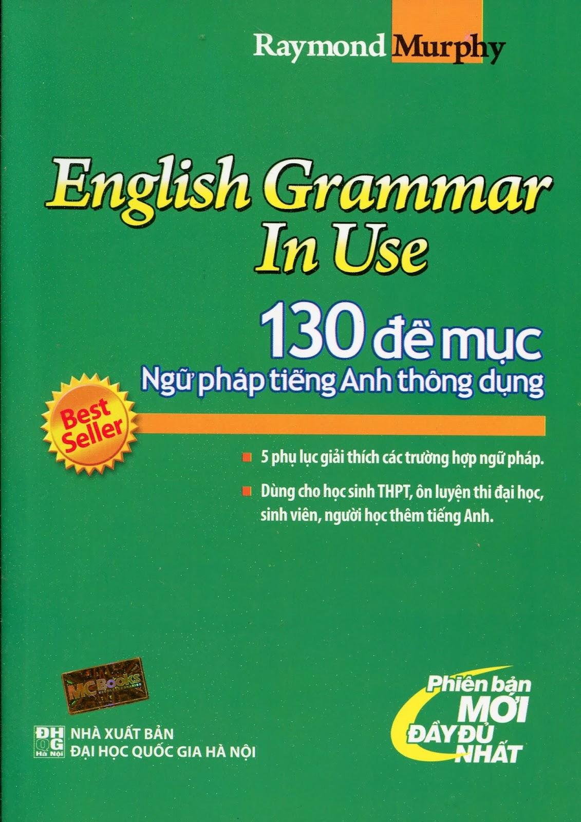 Raymond Murphy on English Grammar in Use - YouTube