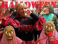 Funny photo Elena Udrea Halloween