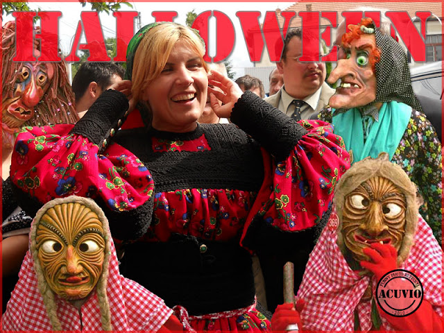 Funny photo Elena Udrea Halloween