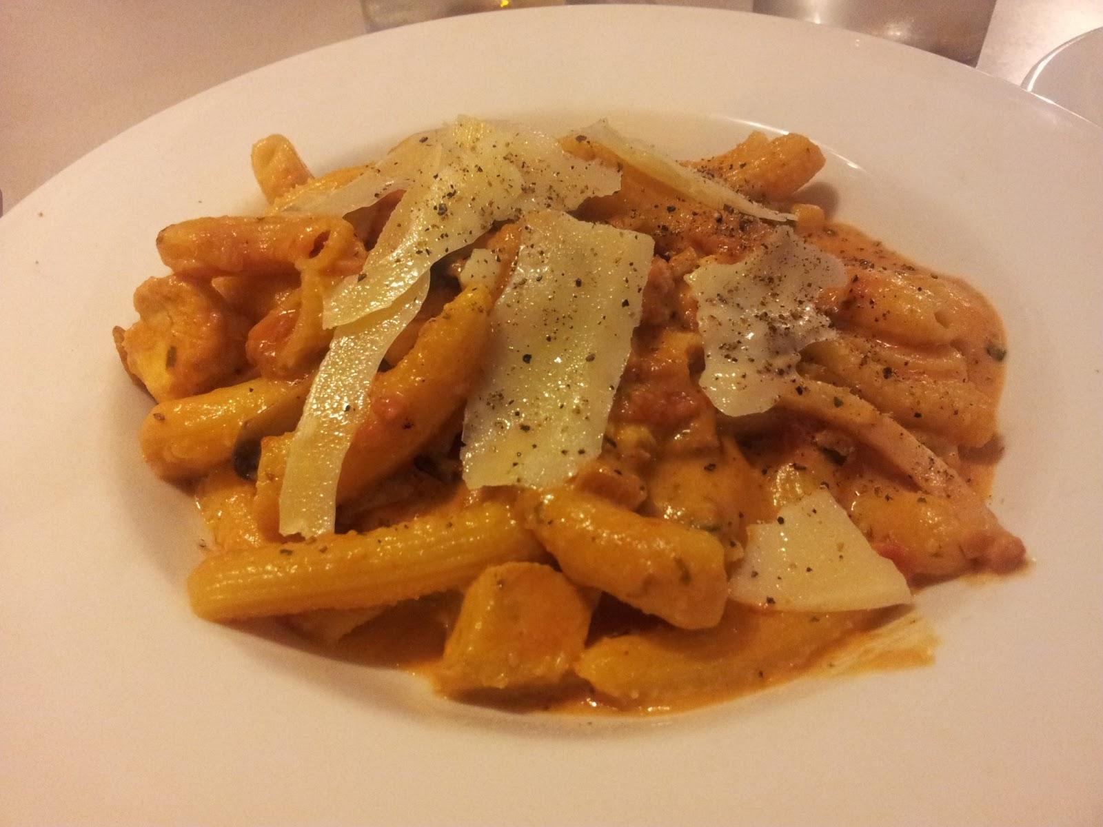 Penne Al Pollo, Pasta, Italian, North East, Il Toro, Adelaide