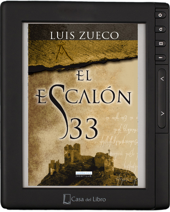 el escal n 33 una novela de luis zueco gran oferta navidad en la casa del libro el escal n 33. Black Bedroom Furniture Sets. Home Design Ideas