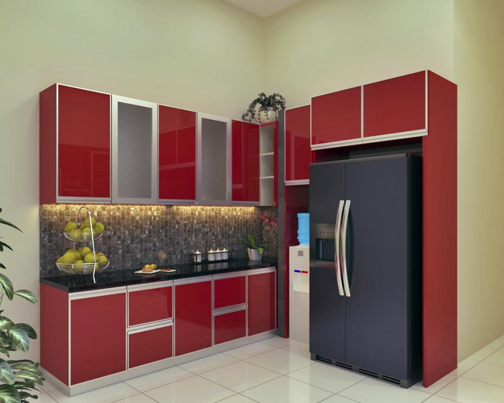 Desain kitchen set ibu zaenal bogor