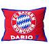 Jastučnica Bayern s imenom