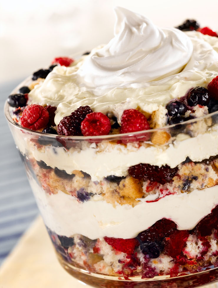 Labor Day Special: Berry Trifle