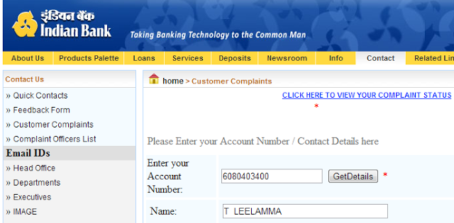 How to find bank name by account number in india vodafone