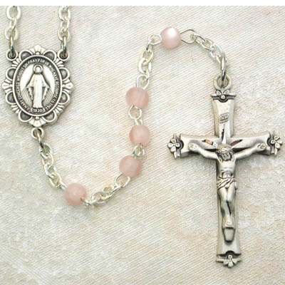 Baptism rosaries are a popular gift!
