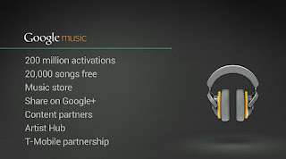Google Music Launch image from Bobby Owsinski's Music 3.0 blog