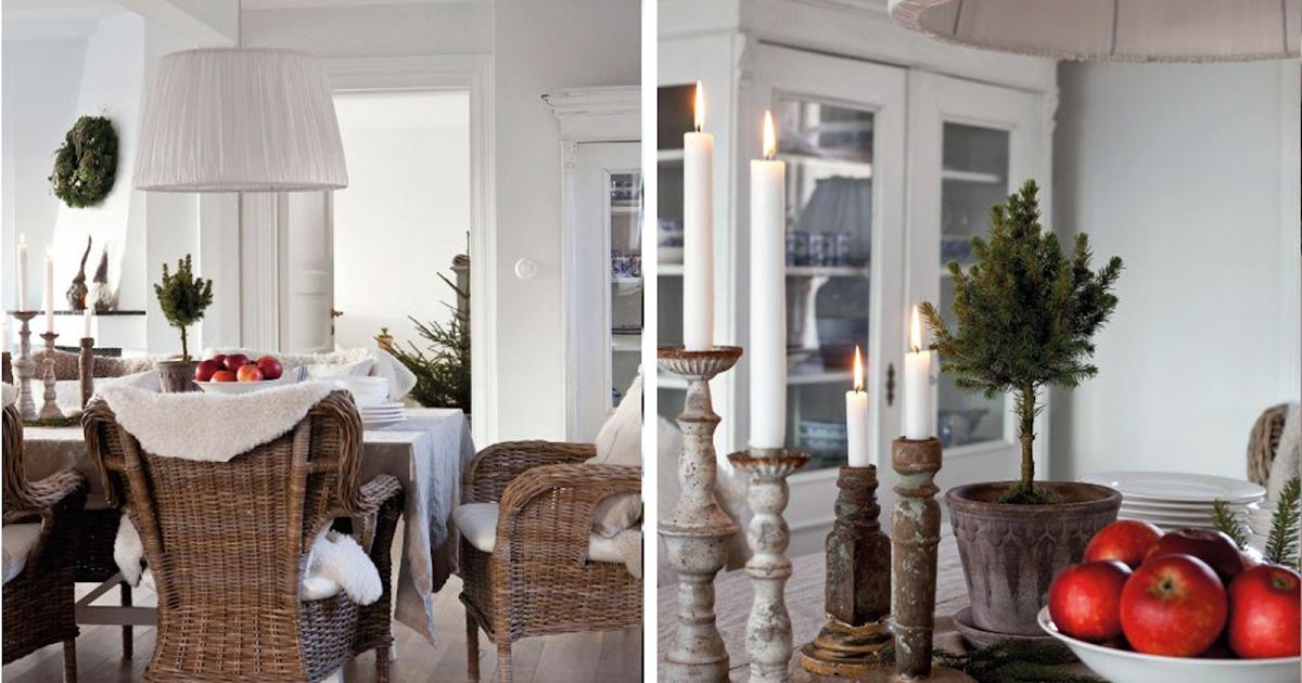 Decoraci n f cil delicados detalles navide os en una casa for Detalles de una casa