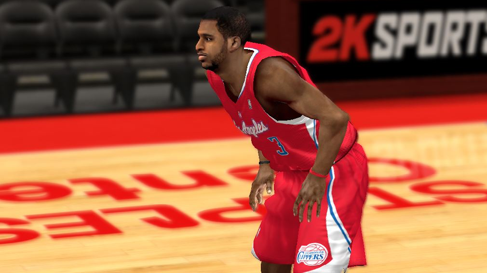 NBA 2K14 Chris Paul Cyberface Patch