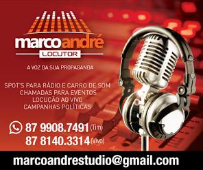 MARCO ANDRÉ - LOCUTOR.