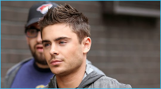 Zac Efron Short Hair New Years Eve Gallery For > Zac E...