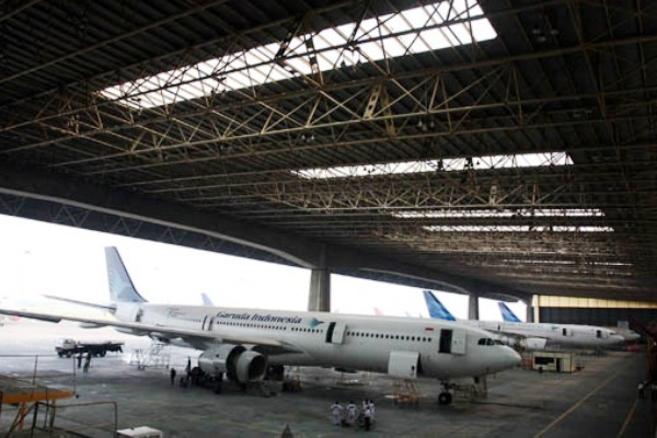 Garuda Maintenance Facility Aero Asia
