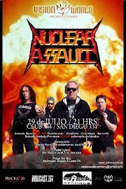 NUCLEAR ASSAULT EN CHILE 2011