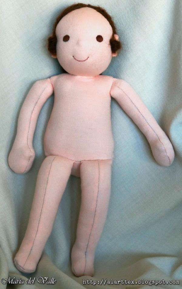 Izannah Walker - Waldorf doll