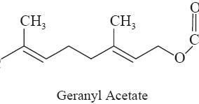 Geranyl Acetate Oil Of Citronella Petit