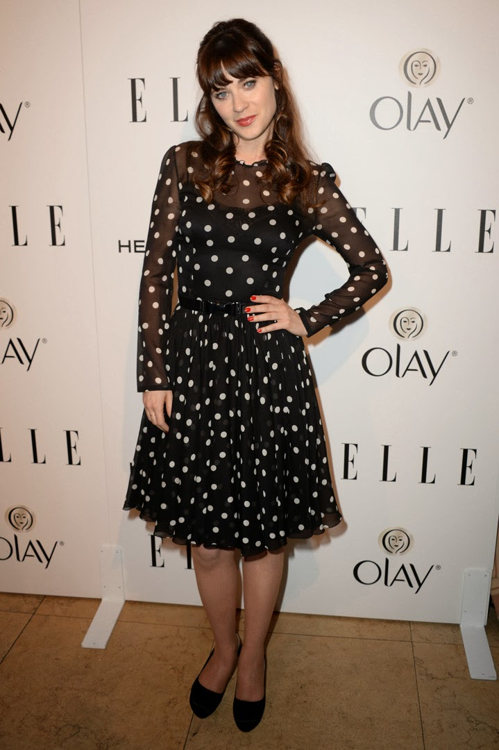 Elle´s Women in Television zooey deschanel