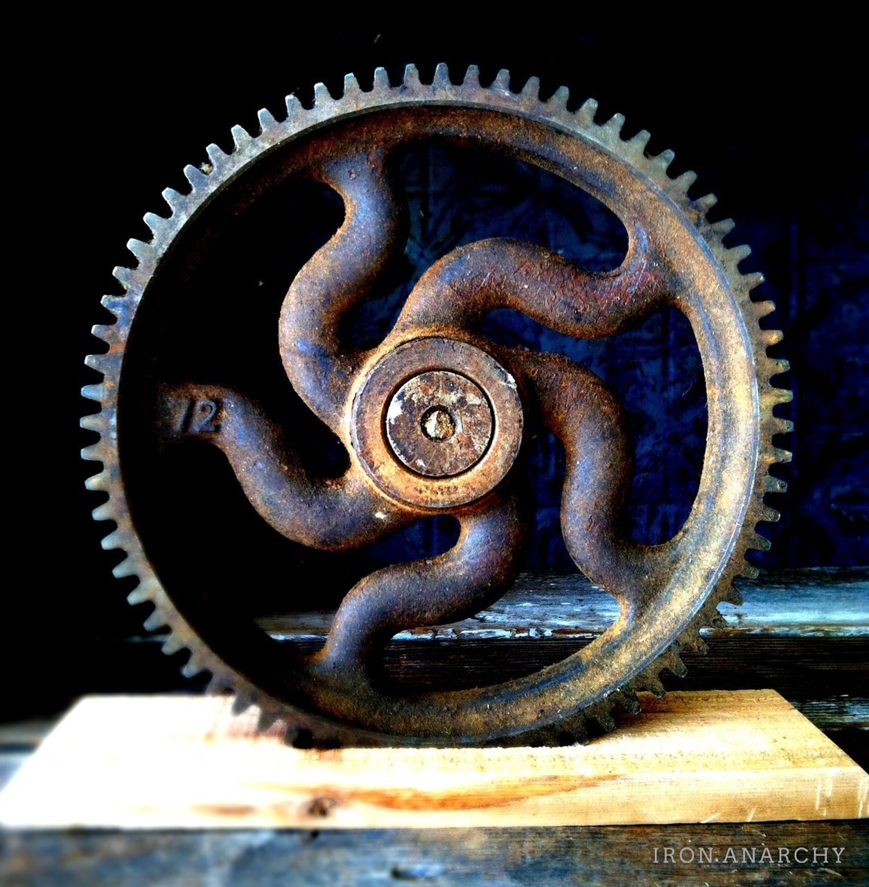 Cast Iron Wheels And Gears : S antique industrial cast iron gear sculptures