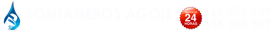 FONTANERO EN ZARAGOZA - 665 553 439 - FONTANEROS AGÓIZ