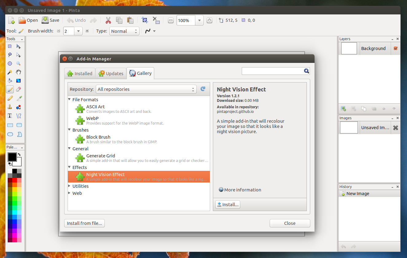 Pinta Image Editor Sees New Stable Release Web Upd8