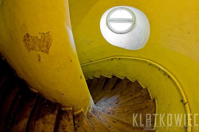 Lublin: żółta klatka schodowa