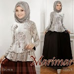 Baju Muslim Gamis Marimar HYD211 HABIS