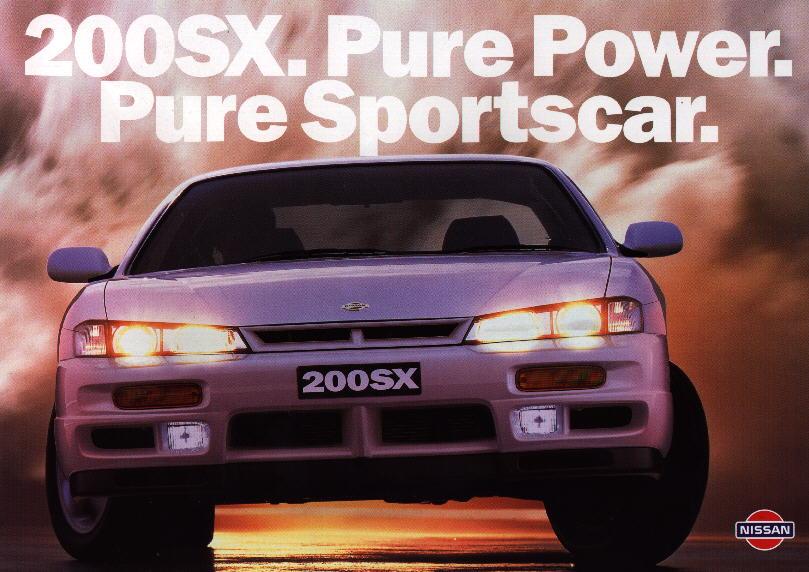 Nissan 200SX S14a, objaśnienie, informacje, zdjęcia, JDM, sportowe samochody z lat 90, kultowe auta, z duszą